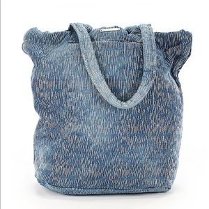 Monserat De Lucca printed tote with silver detail